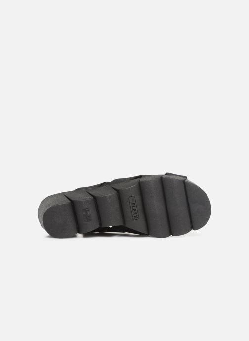 Sandales et nu-pieds The Flexx Slingastic Noir vue haut