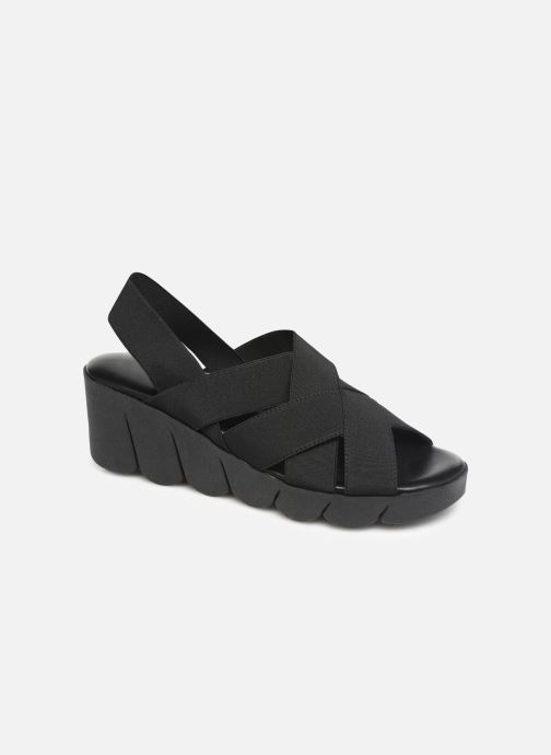 Sandals The Flexx Slingastic Black detailed view/ Pair view