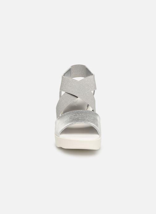 Sandales et nu-pieds The Flexx Slincross Argent vue portées chaussures