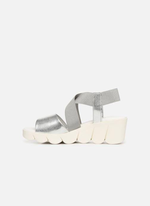 Sandales et nu-pieds The Flexx Slincross Argent vue face