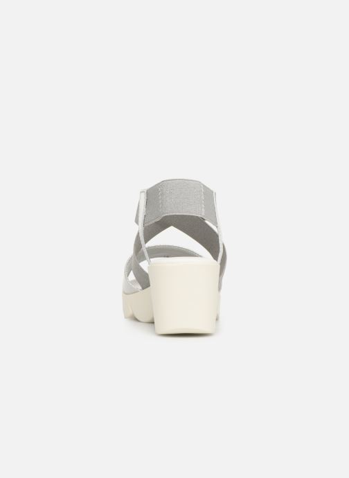 Sandals The Flexx Slincross Silver view from the right