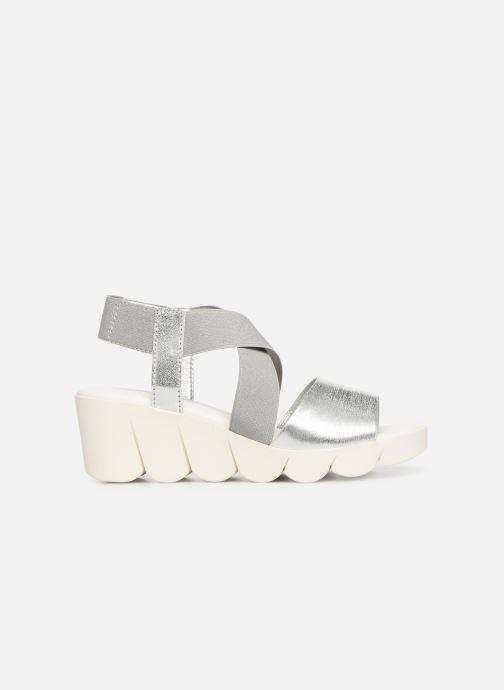 Sandales et nu-pieds The Flexx Slincross Argent vue derrière