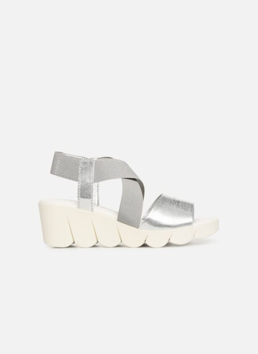 Sandals The Flexx Slincross Silver back view