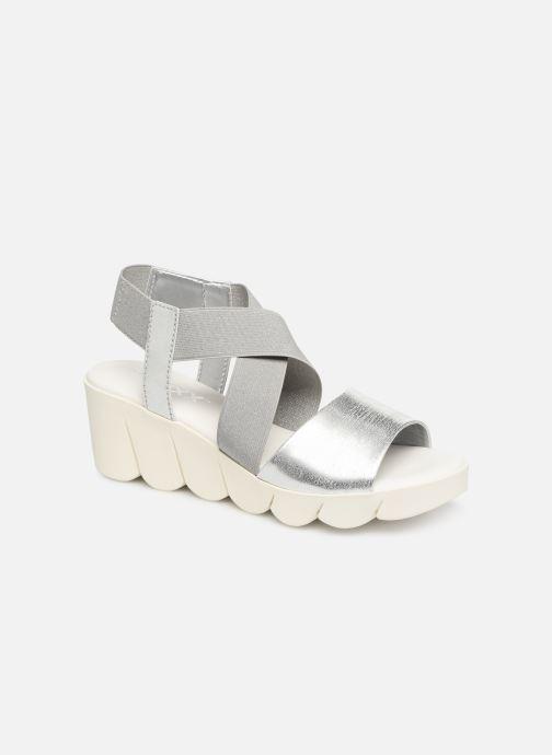 Sandales et nu-pieds The Flexx Slincross Argent vue détail/paire