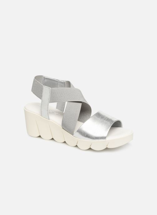 Sandals The Flexx Slincross Silver detailed view/ Pair view