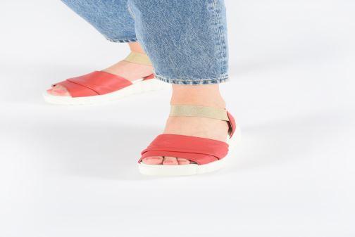 Sandales et nu-pieds The Flexx Miura Rouge vue bas / vue portée sac