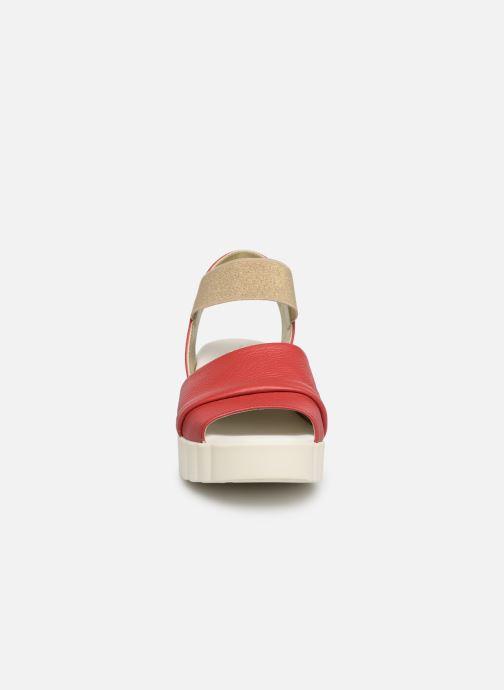 Sandales et nu-pieds The Flexx Miura Rouge vue portées chaussures