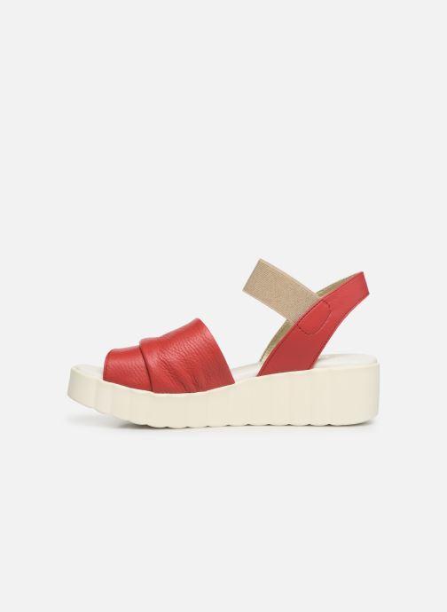Sandales et nu-pieds The Flexx Miura Rouge vue face