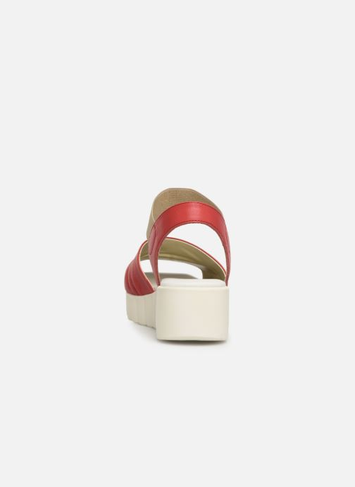 Sandales et nu-pieds The Flexx Miura Rouge vue droite