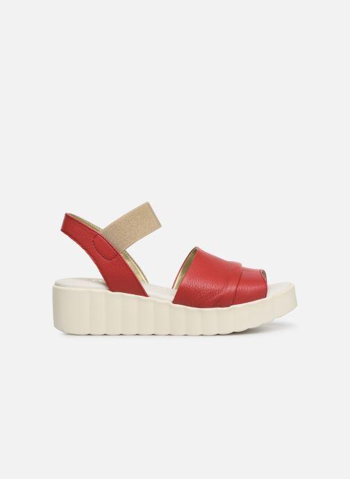 Sandales et nu-pieds The Flexx Miura Rouge vue derrière
