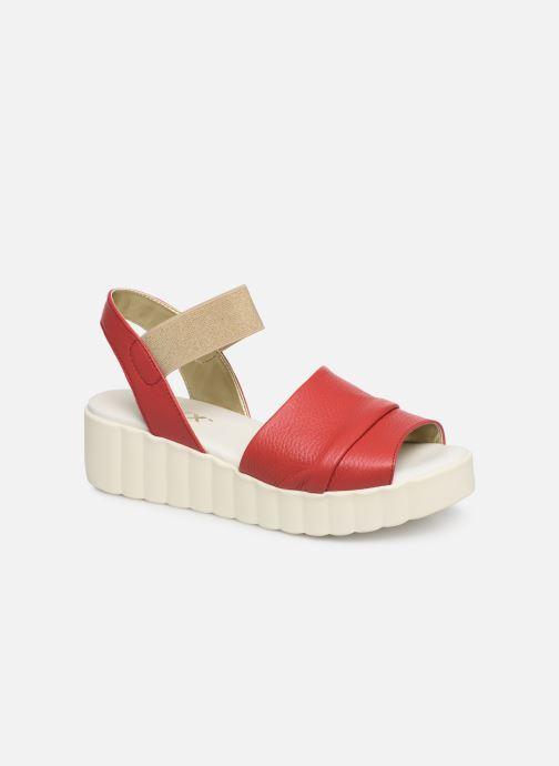 Sandaler The Flexx Miura Rød detaljeret billede af skoene