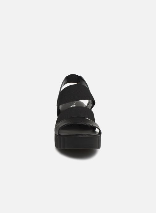 Sandales et nu-pieds The Flexx Akken Noir vue portées chaussures