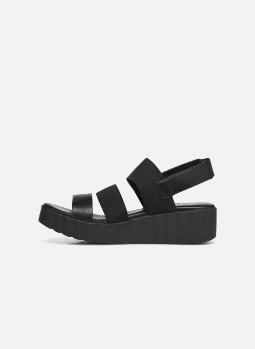 Sandales et nu-pieds The Flexx Akken Noir vue face