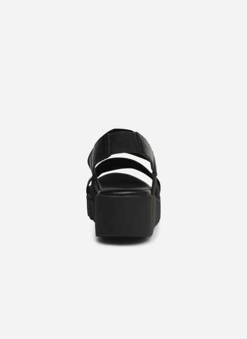 Sandals The Flexx Akken Black view from the right