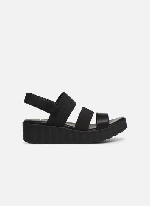 Sandalen The Flexx Akken Zwart achterkant