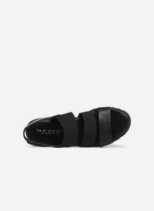 Sandales et nu-pieds The Flexx Akken Noir vue gauche