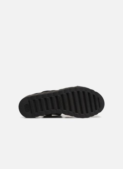 Sandales et nu-pieds The Flexx Akken Noir vue haut
