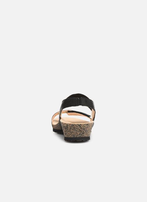 Sandales et nu-pieds Think! Dumia 84373 Noir vue droite