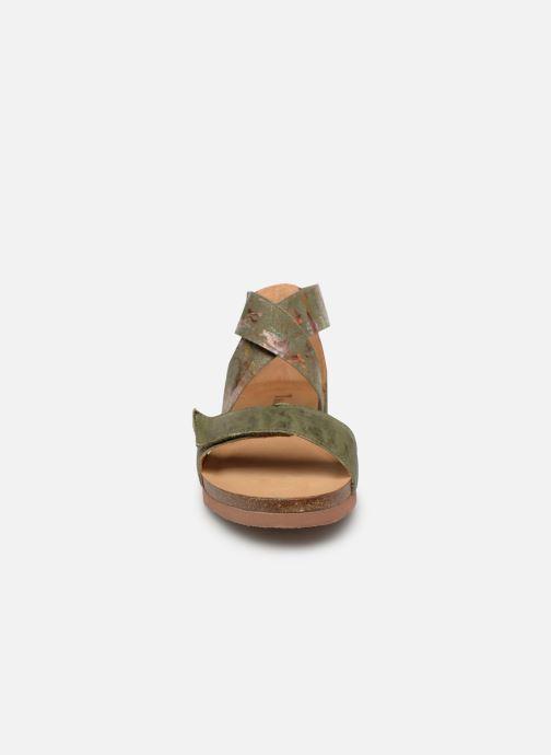 Sandales et nu-pieds Think! Shik 84593 Vert vue portées chaussures