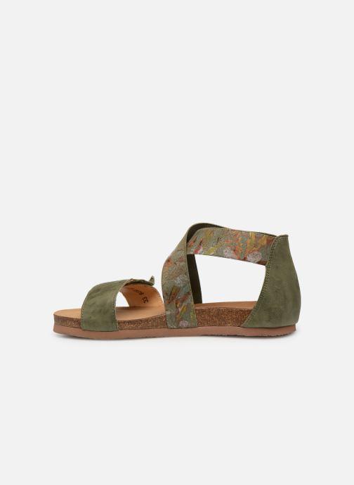 Sandales et nu-pieds Think! Shik 84593 Vert vue face