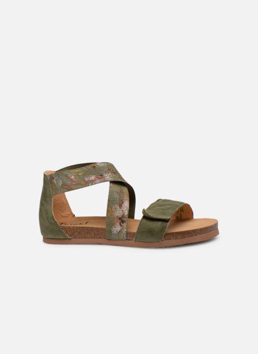 Sandales et nu-pieds Think! Shik 84593 Vert vue derrière
