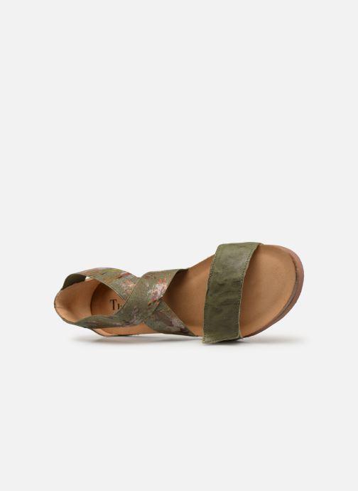 Sandales et nu-pieds Think! Shik 84593 Vert vue gauche