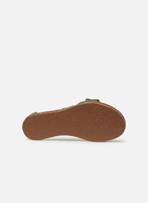 Sandales et nu-pieds Think! Shik 84593 Vert vue haut