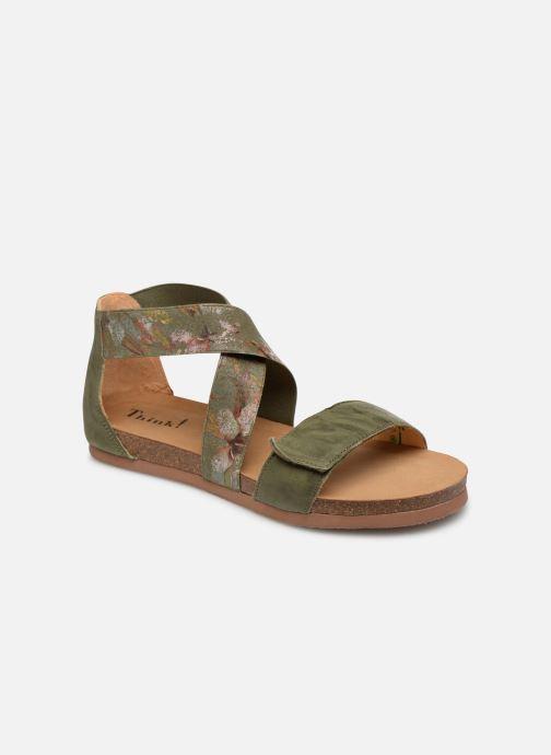 Sandales et nu-pieds Think! Shik 84593 Vert vue détail/paire