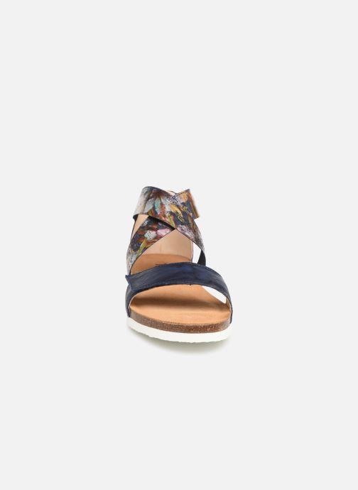 Sandales et nu-pieds Think! Shik 84593 Bleu vue portées chaussures