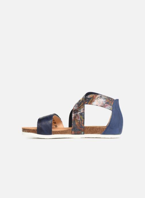 Sandales et nu-pieds Think! Shik 84593 Bleu vue face