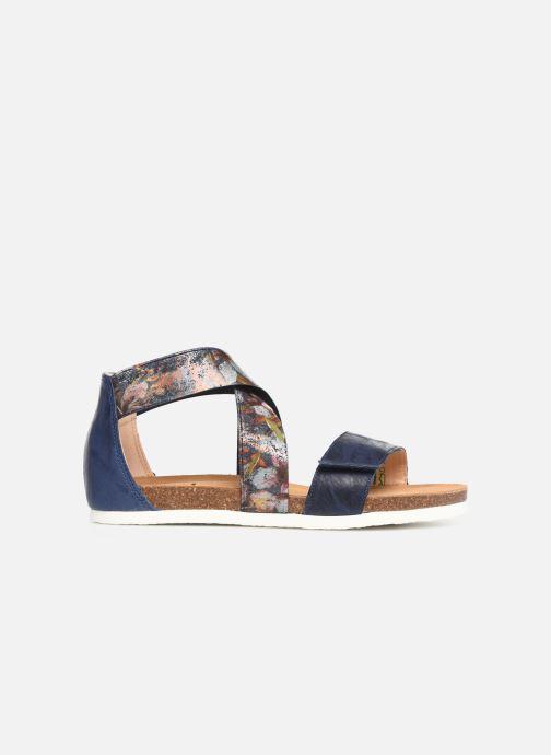 Sandales et nu-pieds Think! Shik 84593 Bleu vue derrière