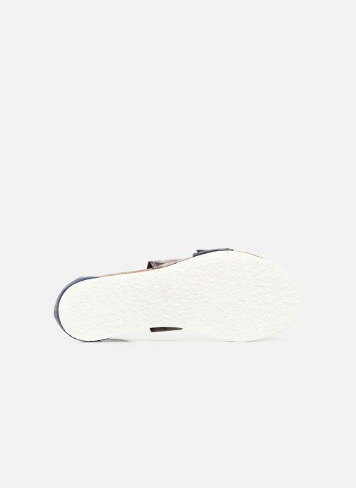 Sandales et nu-pieds Think! Shik 84593 Bleu vue haut