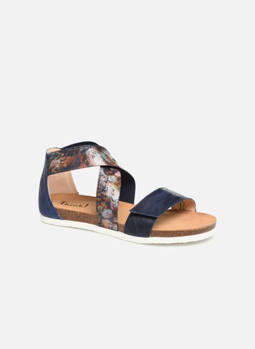Sandales et nu-pieds Think! Shik 84593 Bleu vue détail/paire