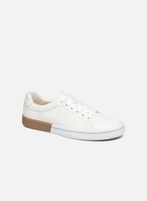 Baskets P-L-D-M By Palladium Flag NCA Blanc vue détail/paire