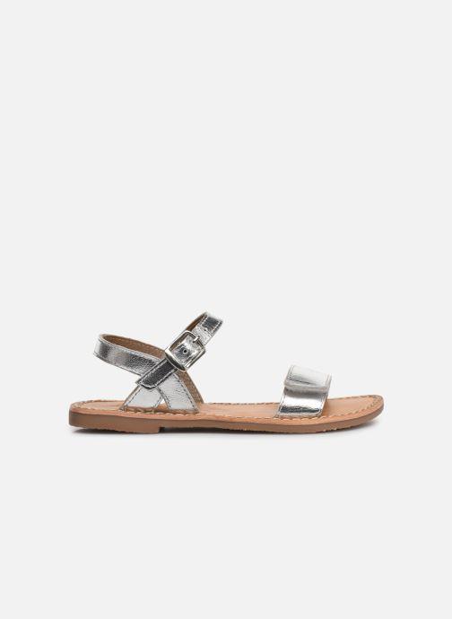 Sandales et nu-pieds L'Atelier Tropézien Cassandre Argent vue derrière