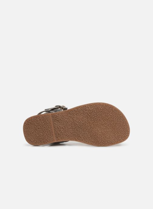 Sandales et nu-pieds L'Atelier Tropézien Cassandre Argent vue haut