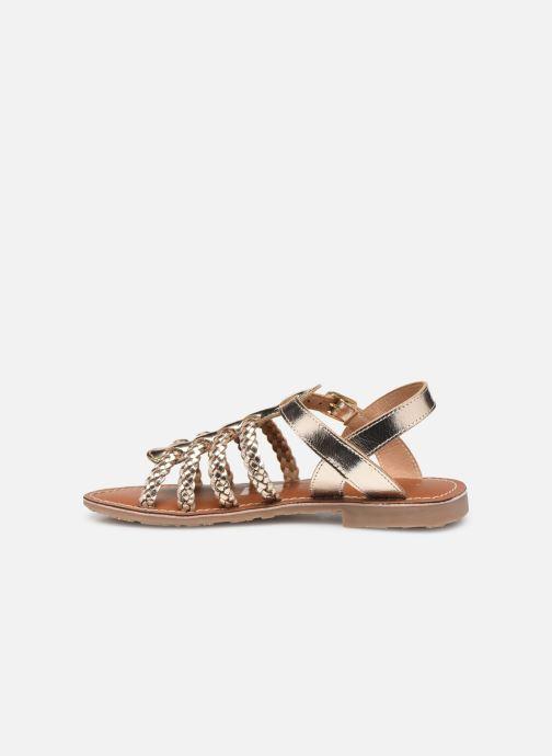 Sandalen L'Atelier Tropézien Victoire gold/bronze ansicht von vorne