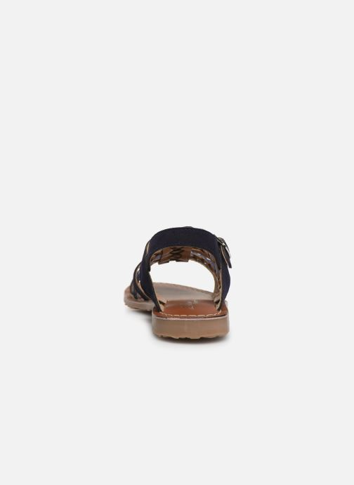 Sandales et nu-pieds L'Atelier Tropézien Marina Bleu vue droite