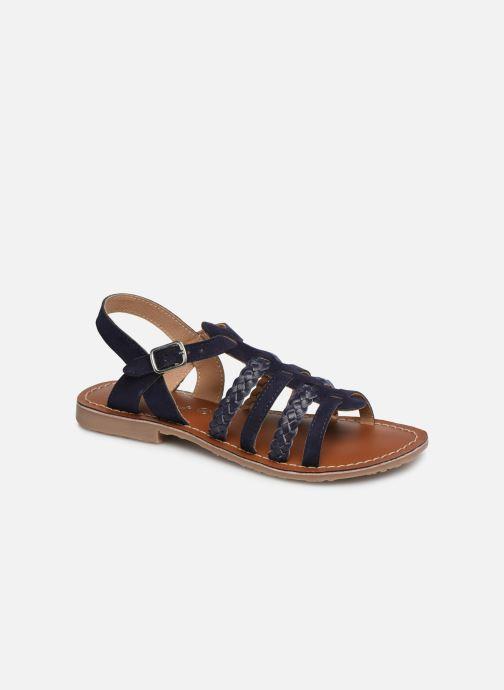 Sandales et nu-pieds L'Atelier Tropézien Marina Bleu vue détail/paire