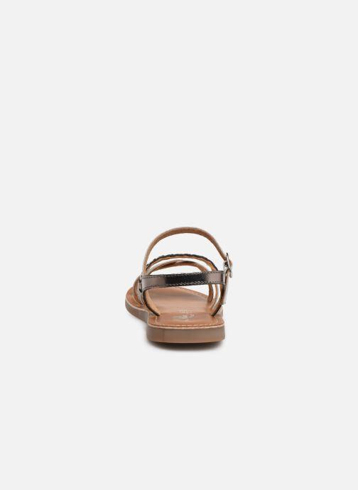 Sandales et nu-pieds L'Atelier Tropézien Diane Argent vue droite