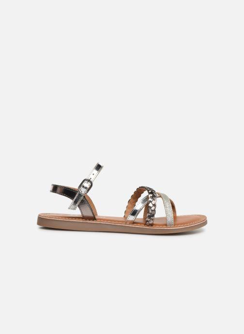 Sandales et nu-pieds L'Atelier Tropézien Diane Argent vue derrière