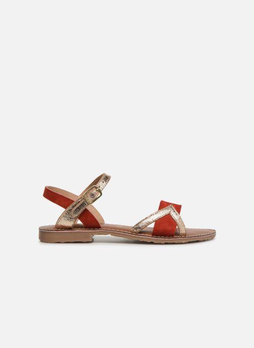 Sandales et nu-pieds L'Atelier Tropézien Constance Rouge vue derrière