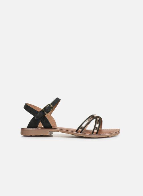 Sandales et nu-pieds L'Atelier Tropézien Romane Noir vue derrière