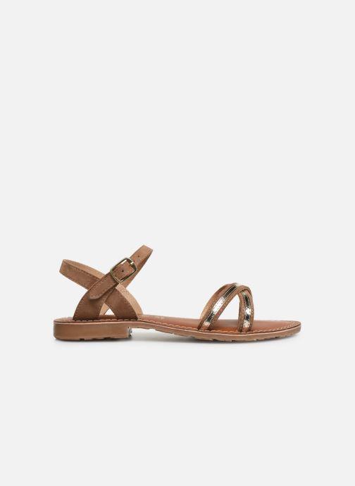 Sandales et nu-pieds L'Atelier Tropézien Romane Marron vue derrière