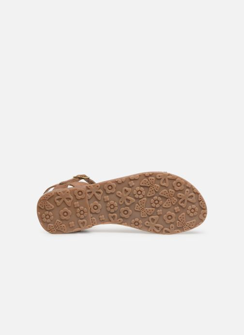 Sandales et nu-pieds L'Atelier Tropézien Romane Marron vue haut