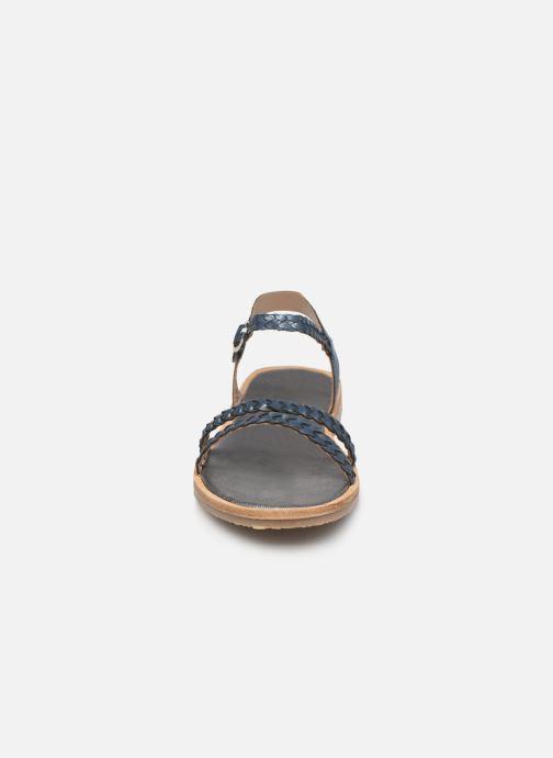 Sandali e scarpe aperte L'Atelier Tropézien Alienor Azzurro modello indossato