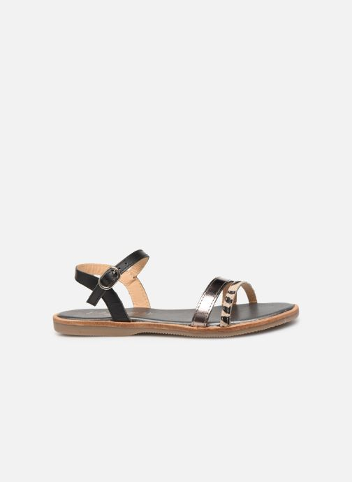 Sandales et nu-pieds L'Atelier Tropézien Mada Noir vue derrière