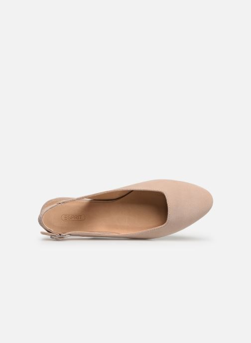 Bailarinas Esprit SABY SLING Beige vista lateral izquierda