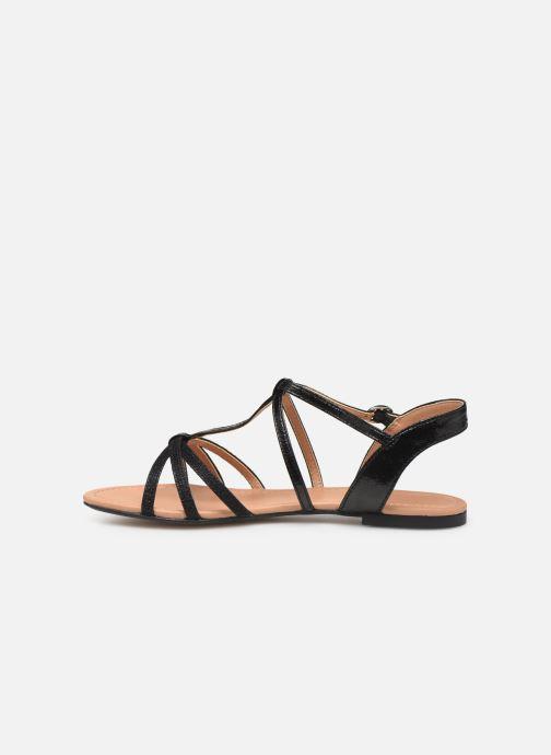 Sandali e scarpe aperte Esprit PEPE STRAP Nero immagine frontale