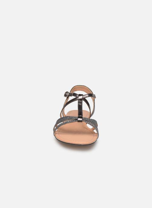 Sandales et nu-pieds Esprit PEPE STRAP Argent vue portées chaussures